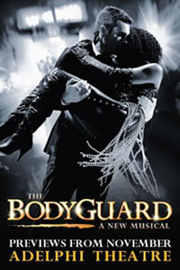The Bodyguard Musical receives